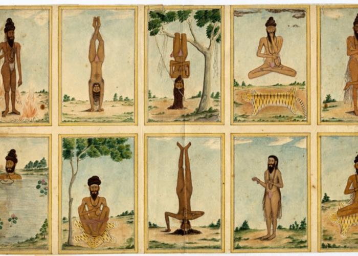 yogic positions