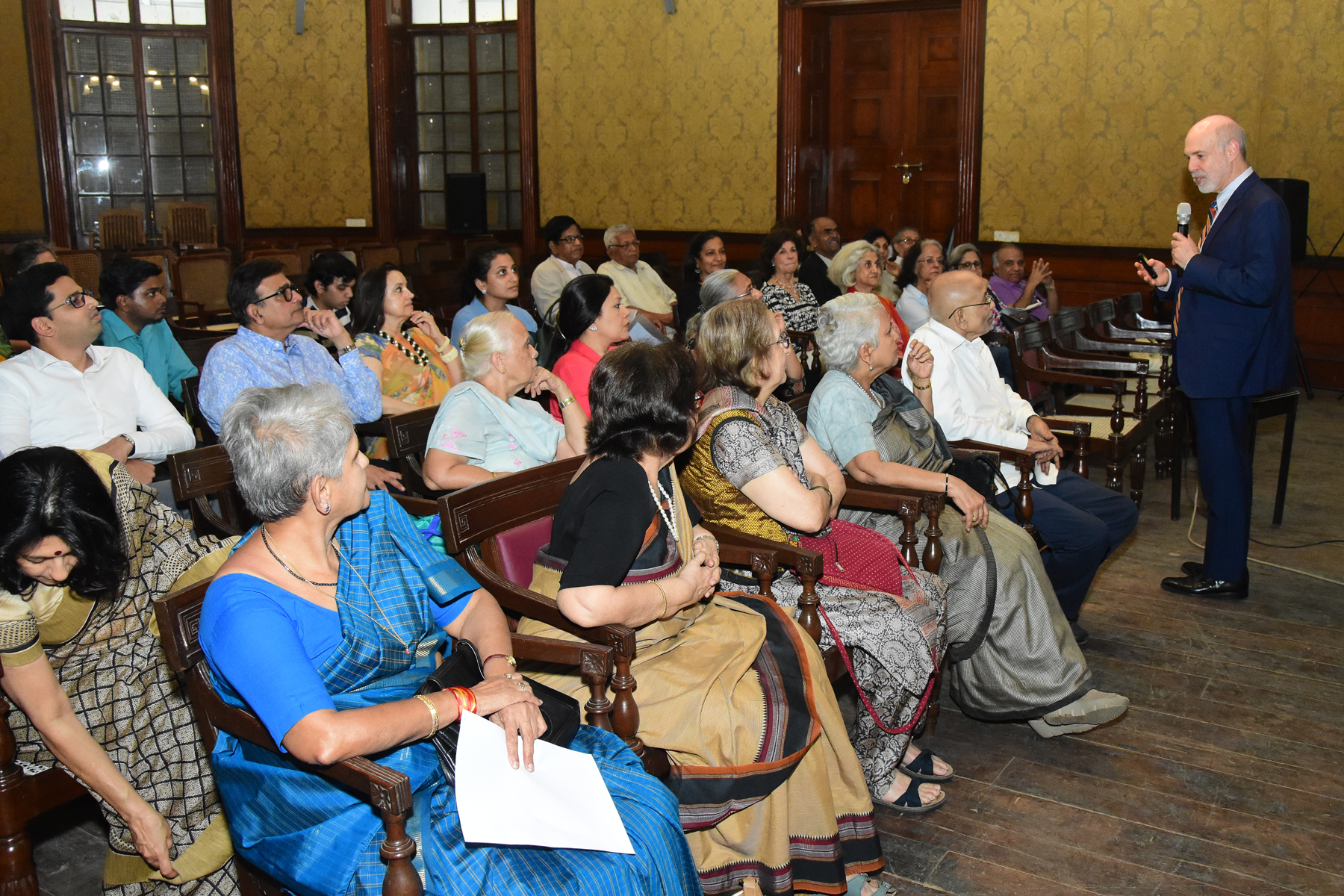 Audience at Asiatic Society